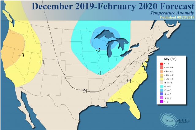 Signs Of A Bad Winter 2019 2020.Preliminary 2019 2020 Winter Forecast