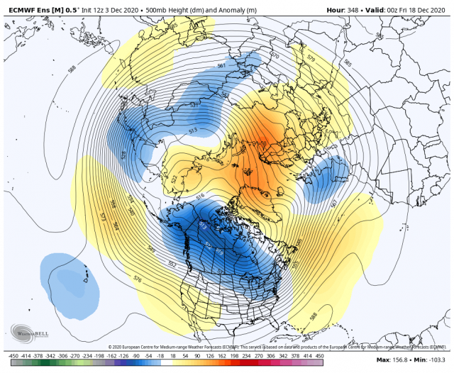 December 2020 Observations and Discussion - Page 4 Ecmwf_ensemble_avg_nhemi_z500_anom_8249600_1(1)